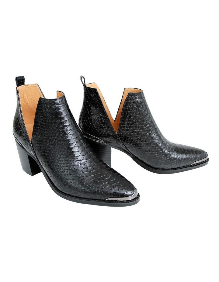 Austin Croc Embossed Ankle Boot image 4