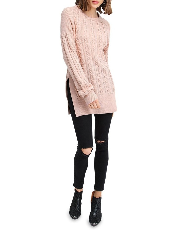 At Last Cable Knit Jumper with Slit image 4