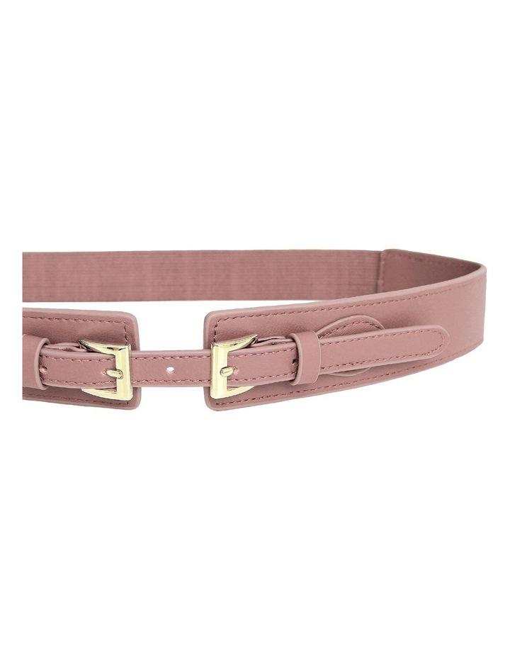 London Fog Leather Waist Belt image 2