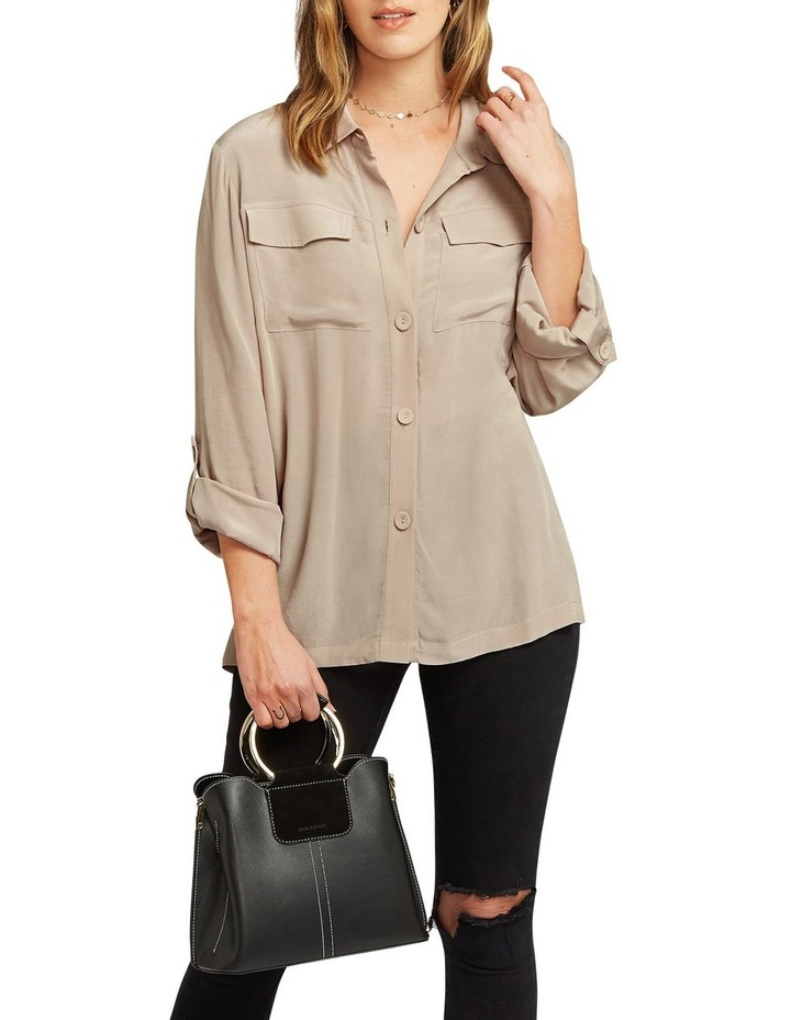 Eclipse Rolled Sleeve Blouse image 6