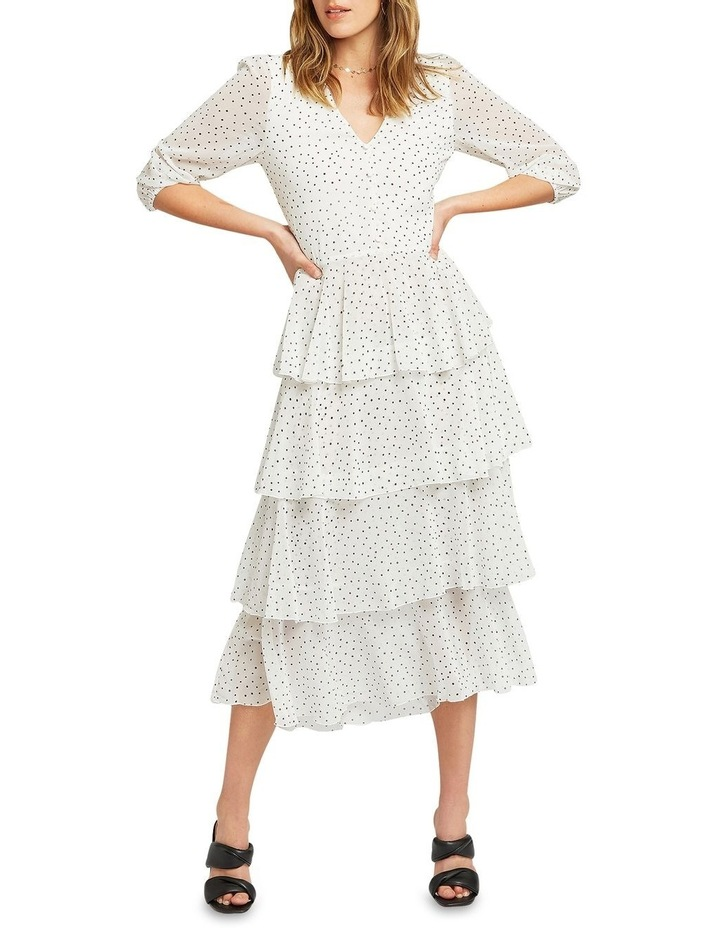 Piece Of Your Heart Tiered Midi Dress image 1