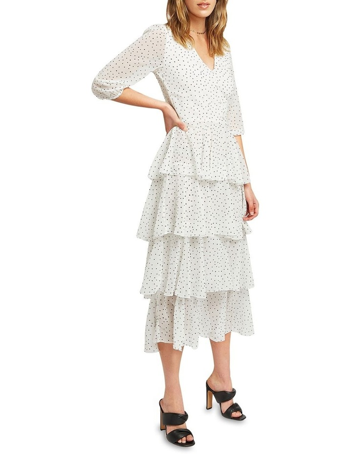 Piece Of Your Heart Tiered Midi Dress image 2