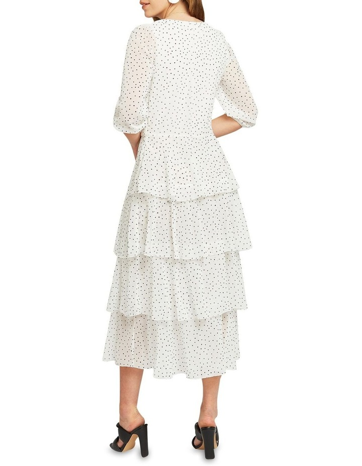 Piece Of Your Heart Tiered Midi Dress image 3