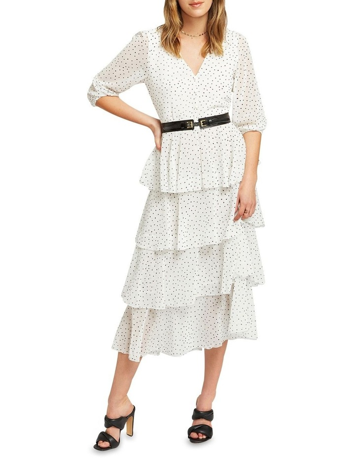 Piece Of Your Heart Tiered Midi Dress image 4