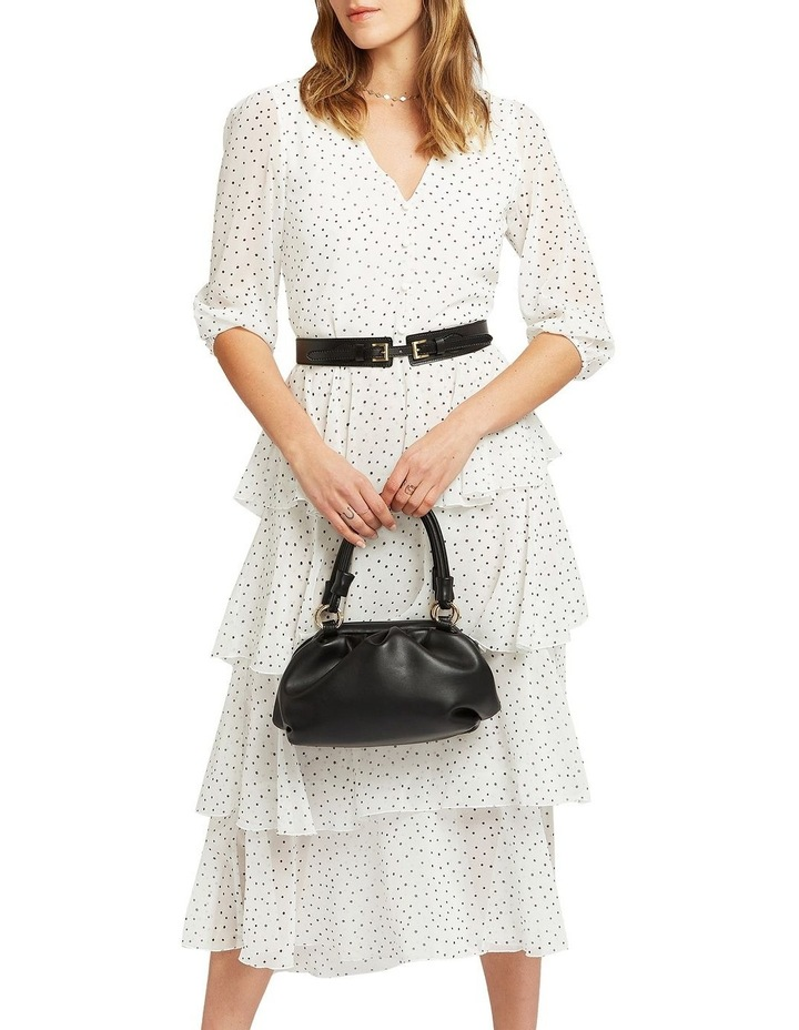 Piece Of Your Heart Tiered Midi Dress image 5