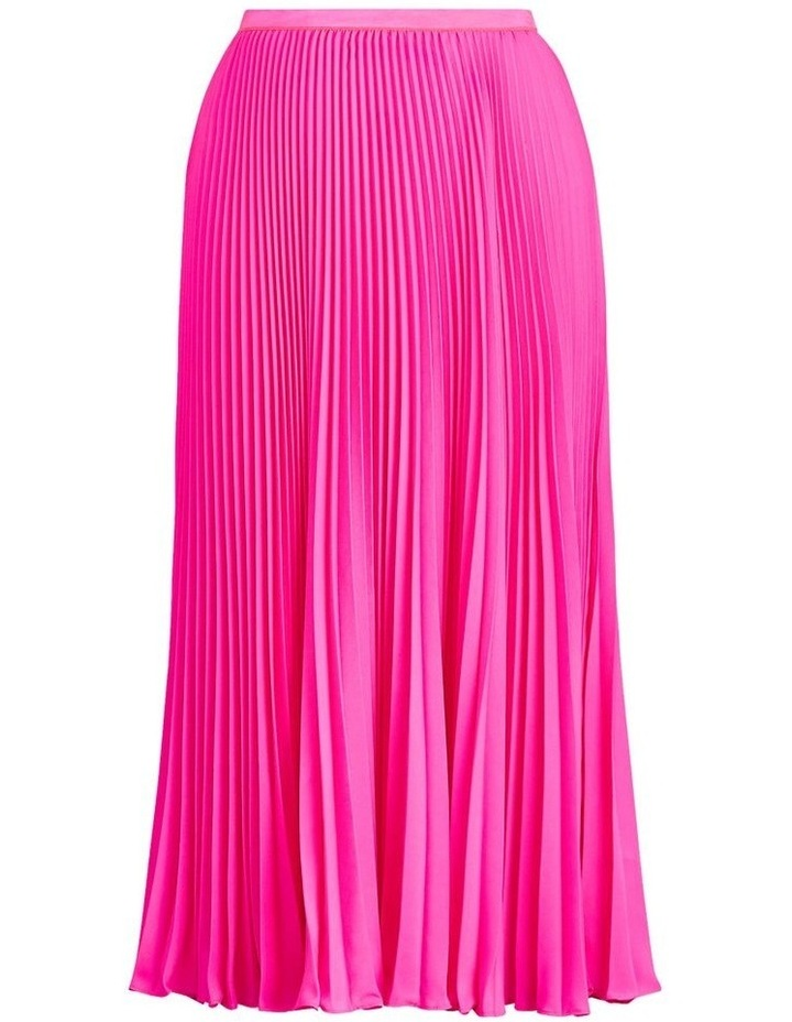 Pleated Midi Skirt image 4
