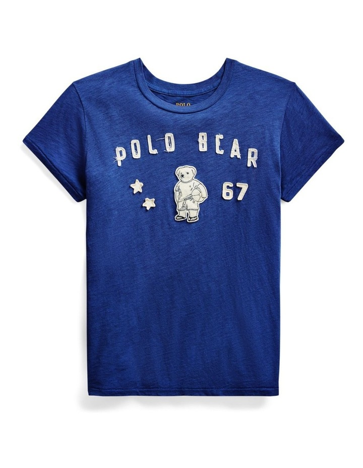 Polo Bear Patch Jersey Tee image 3