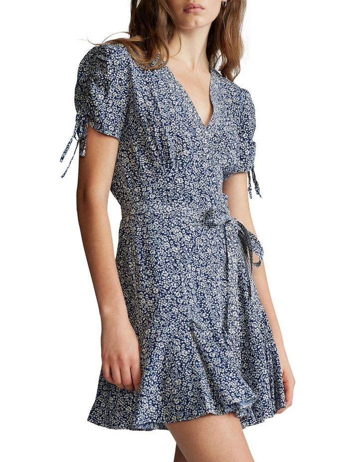 Floral-Print Wrap Dress image 1