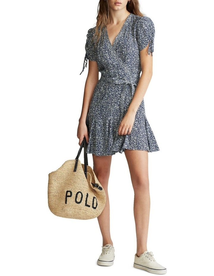Floral-Print Wrap Dress image 2
