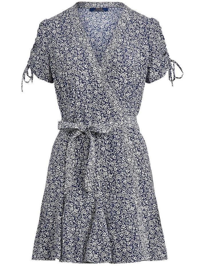Floral-Print Wrap Dress image 4