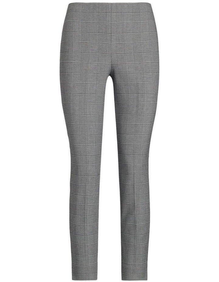 Gingham Stretch Skinny Pant image 4