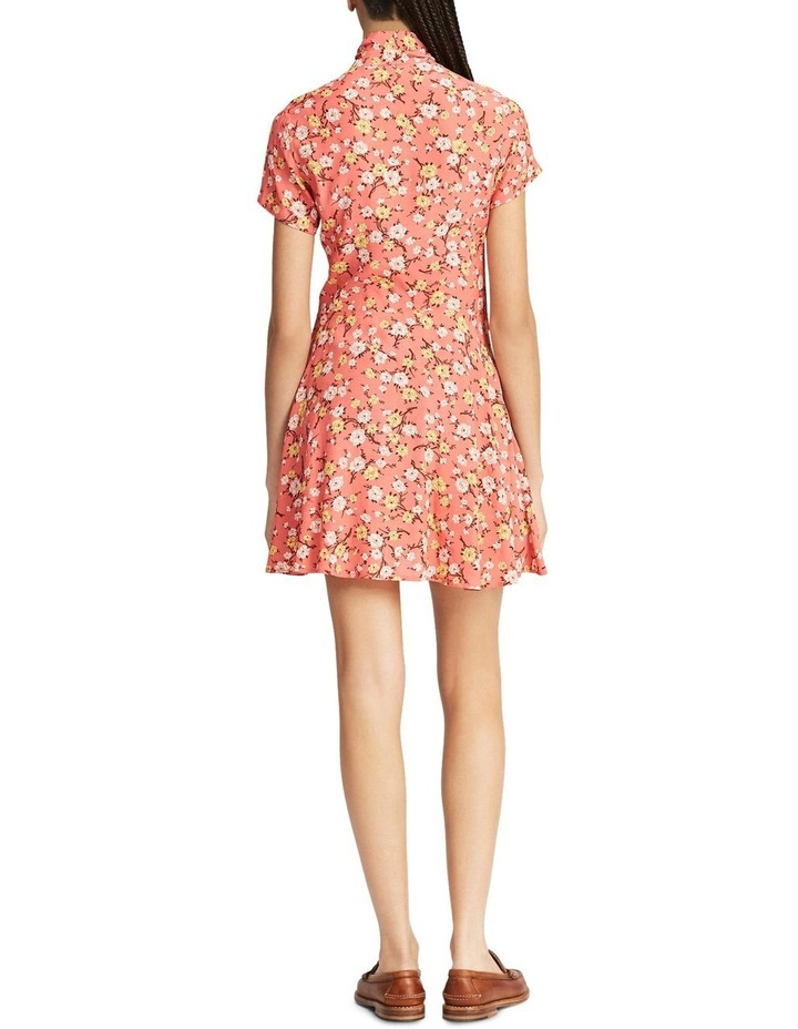 Necktie Fit-and-Flare Dress image 2