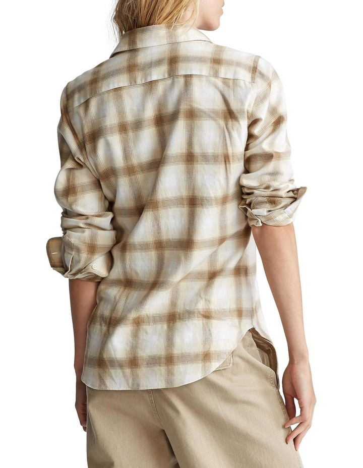 Flannel Button-Down Shirt image 2