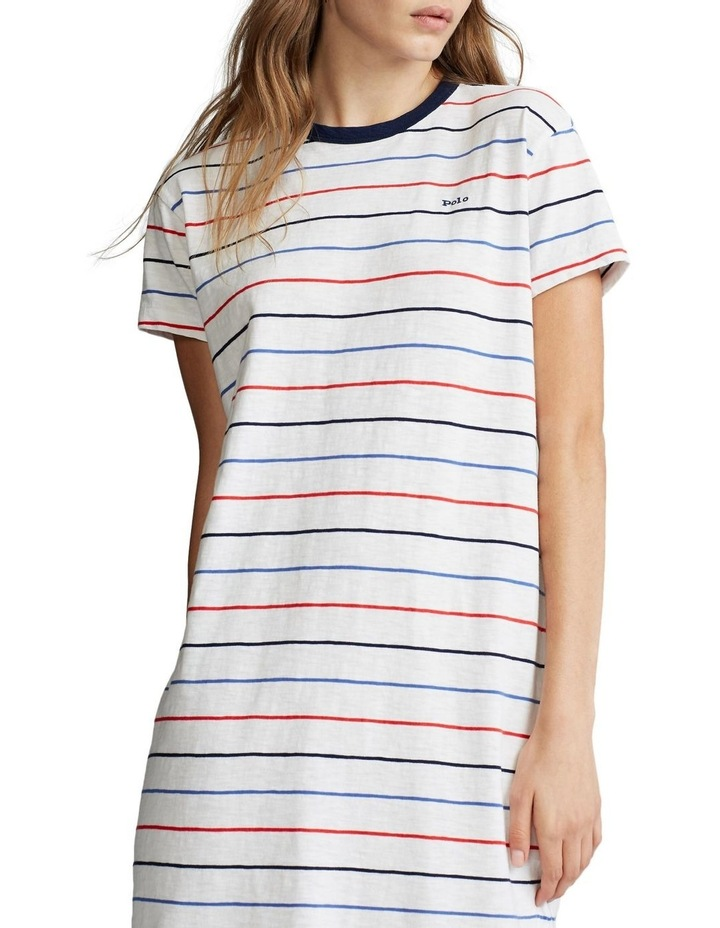 Striped Jersey Dress image 1