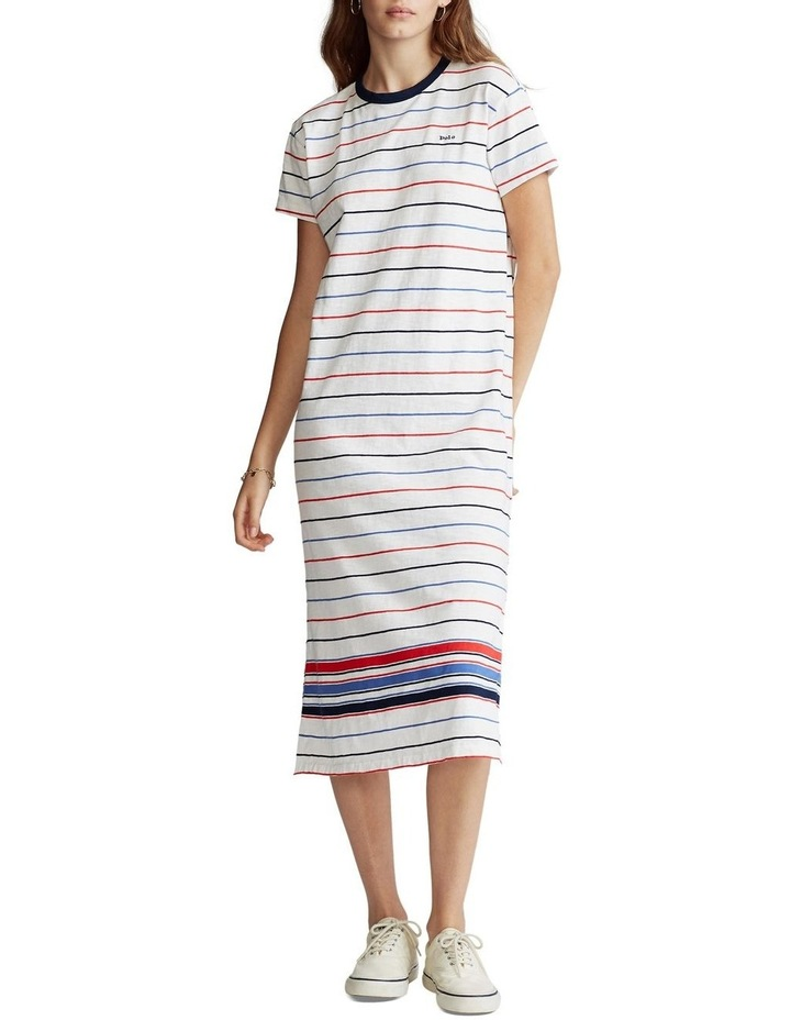 Striped Jersey Dress image 2