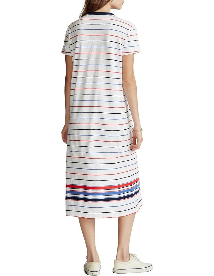 Striped Jersey Dress image 3