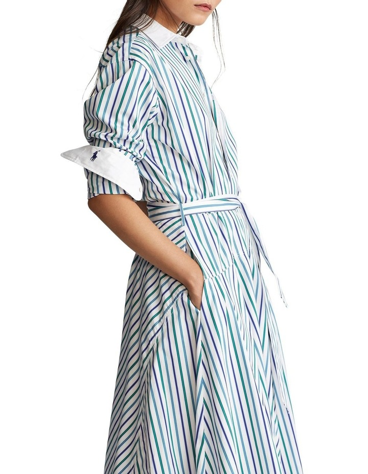 Fit-and-Flare Shirtdress image 1