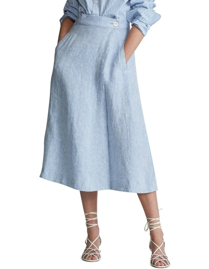 Linen Wrap Skirt image 1