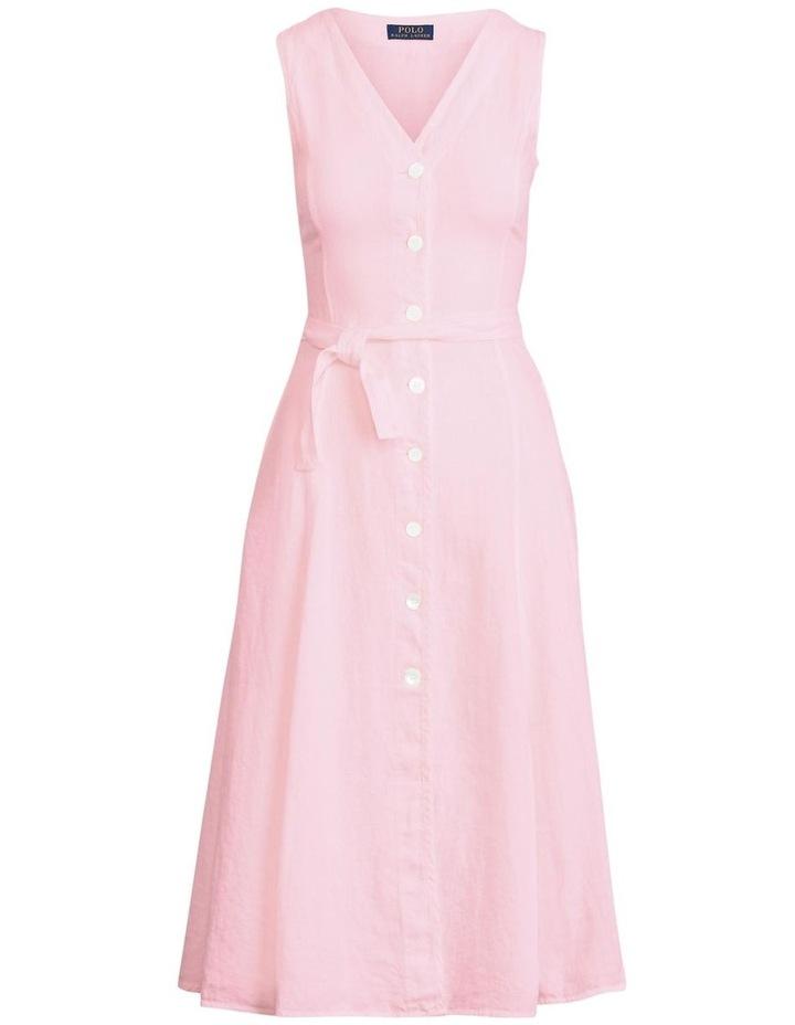 Linen Sleeveless Dress image 4