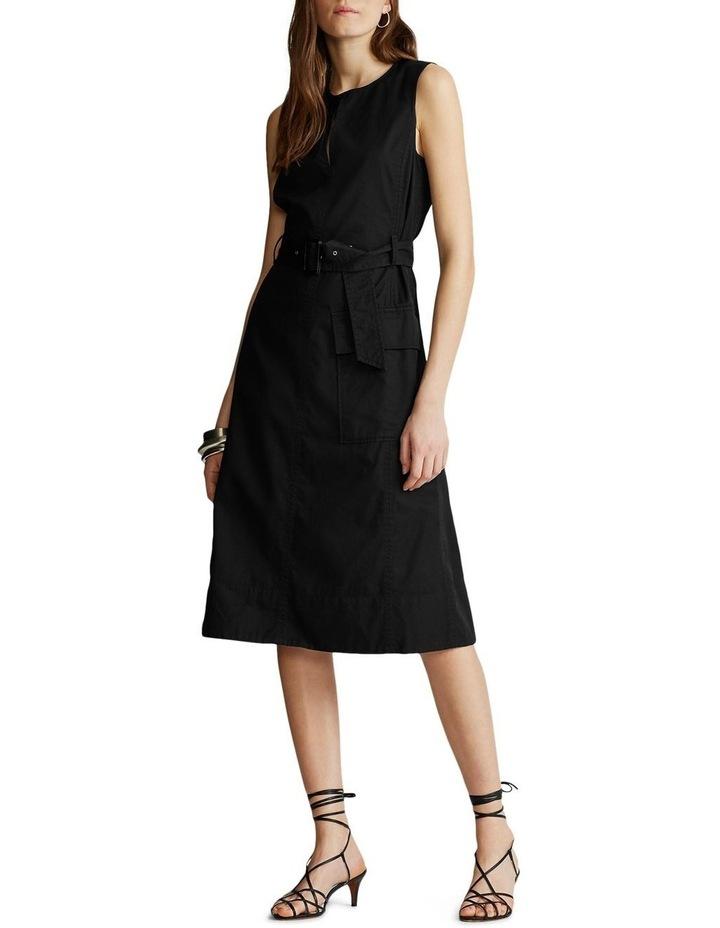 Belted Chino Dress image 2