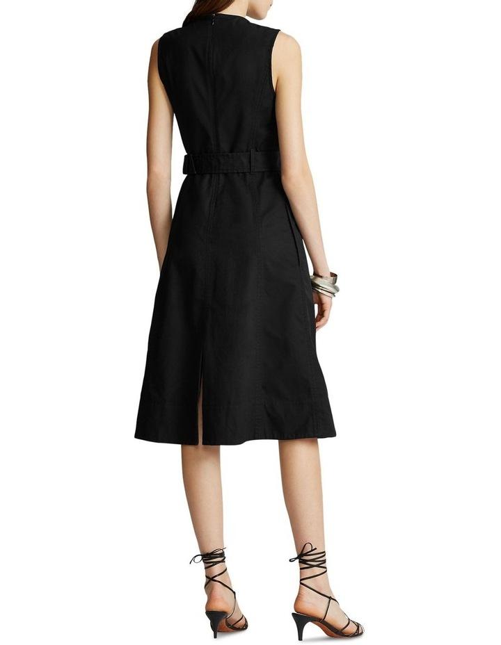 Belted Chino Dress image 3