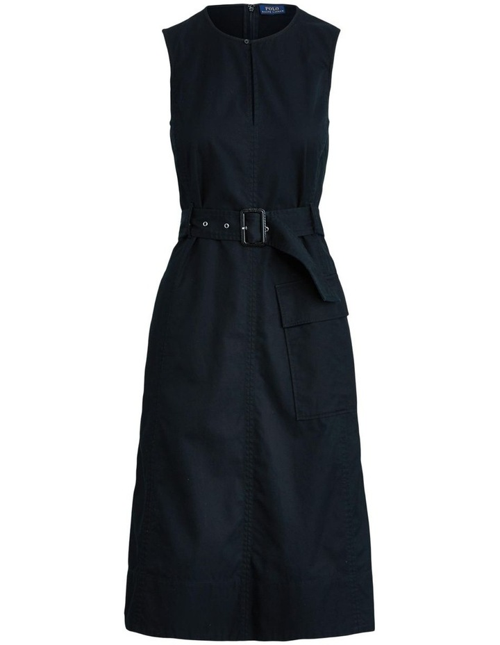Belted Chino Dress image 4