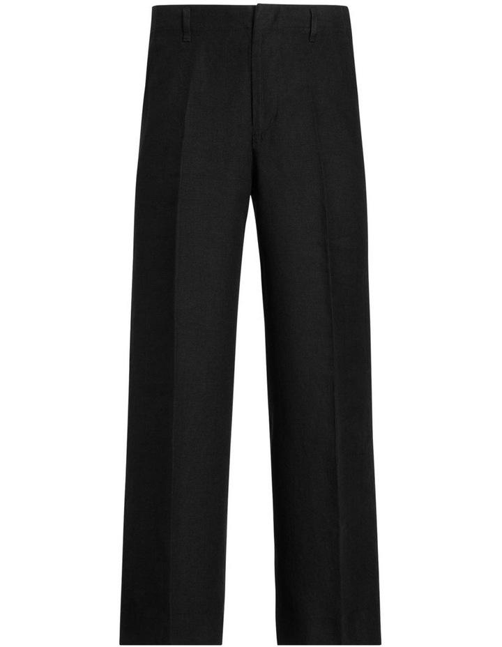 Linen Wide-Leg Pant image 3