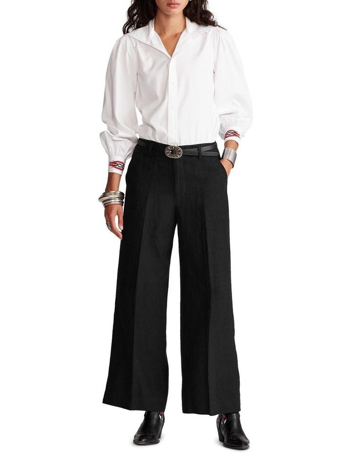 Linen Wide-Leg Pant image 4