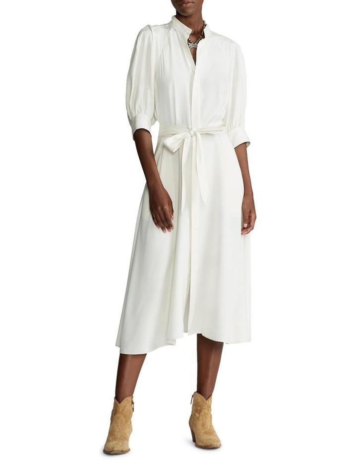 Silk A-Line Dress image 2