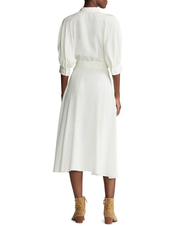 Silk A-Line Dress image 3