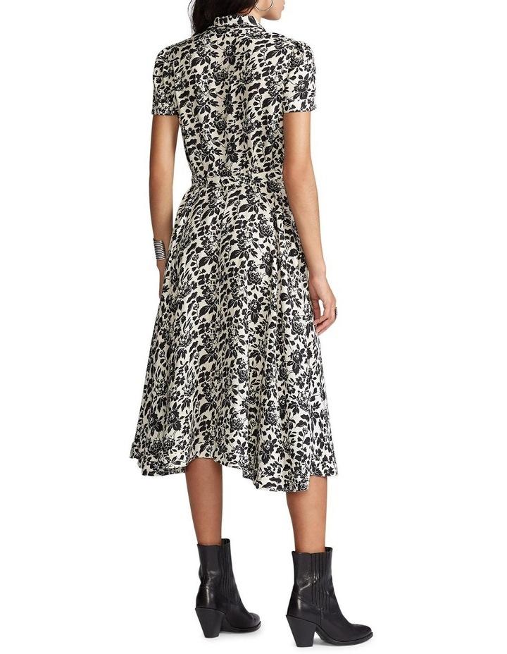 Floral Linen Midi Dress image 3