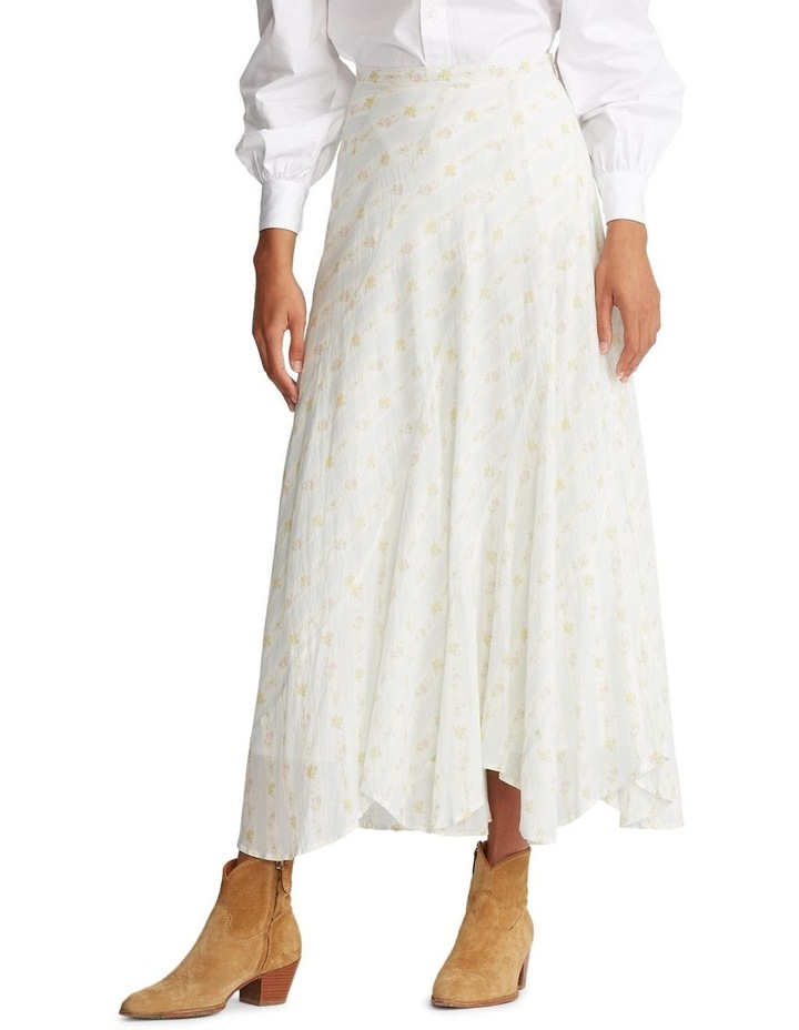 Cotton A-Line Skirt image 1