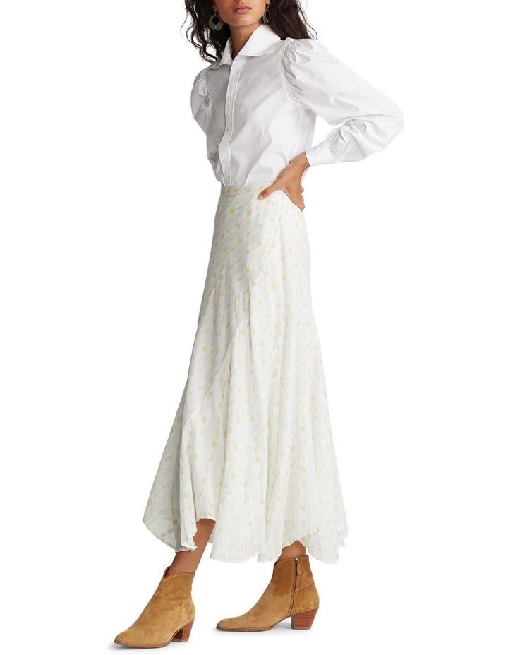 Cotton A-Line Skirt image 3