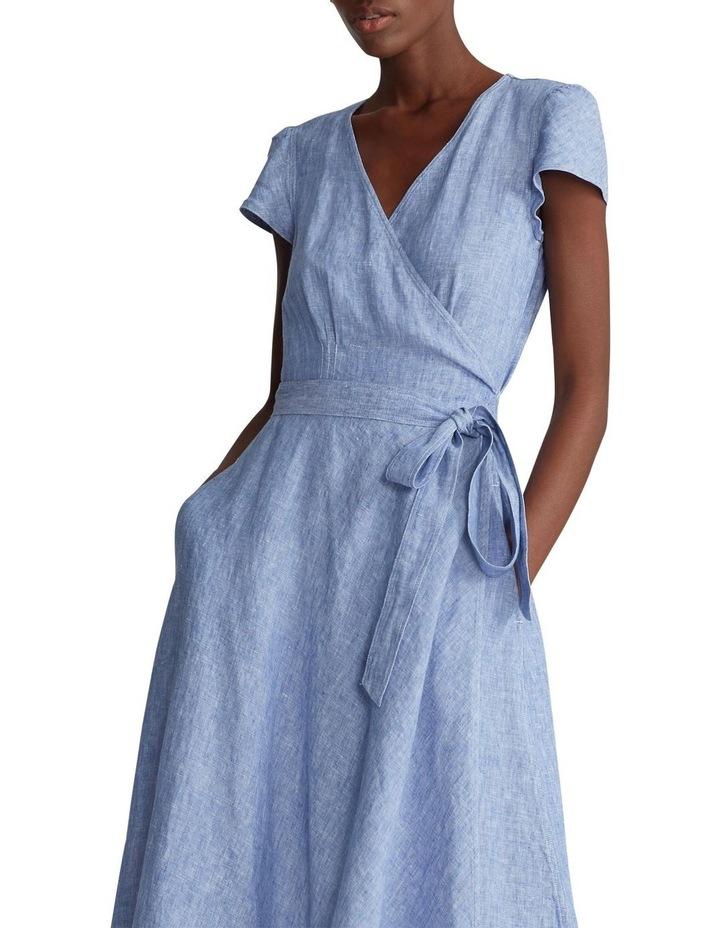 Linen Wrap Dress image 1