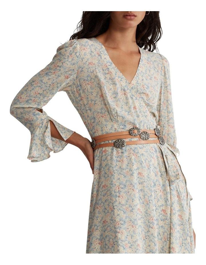 Floral Wrap Dress image 1