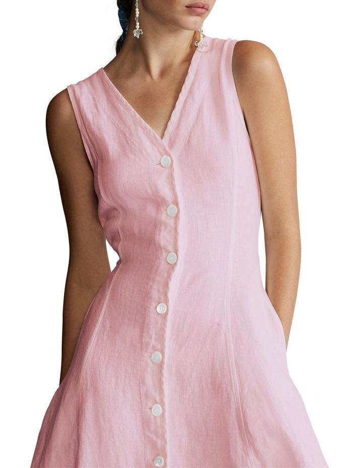 Linen Sleeveless Dress image 1