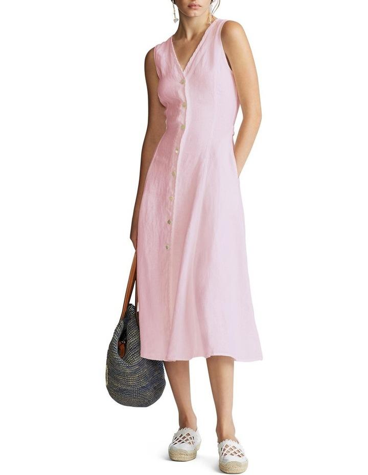 Linen Sleeveless Dress image 2