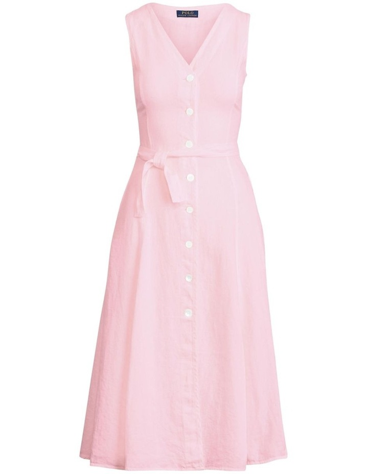 Linen Sleeveless Dress image 3