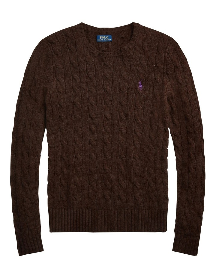 Cable Wool-Blend Sweater image 4