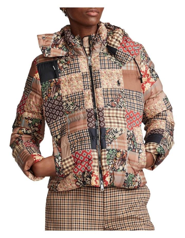 Patchwork Down-Filled Jacket image 1