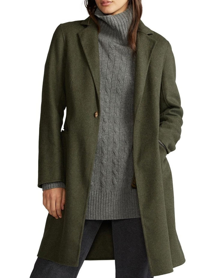 Double-Faced Wool-Blend Coat image 1