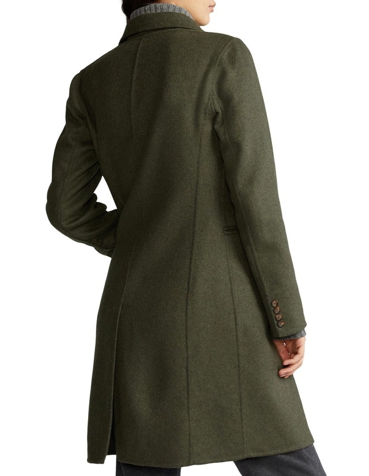 Double-Faced Wool-Blend Coat image 2