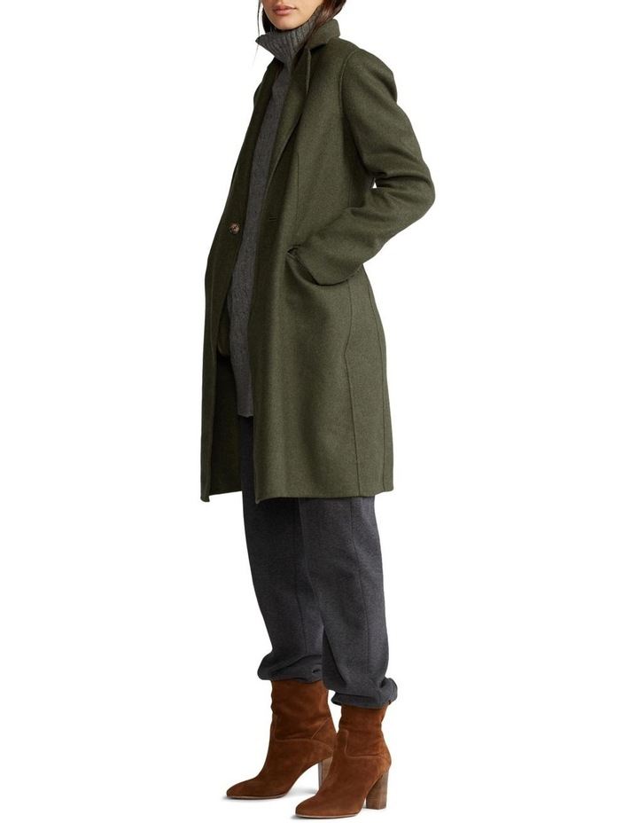 Double-Faced Wool-Blend Coat image 3