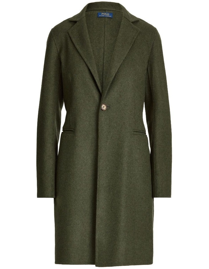 Double-Faced Wool-Blend Coat image 4