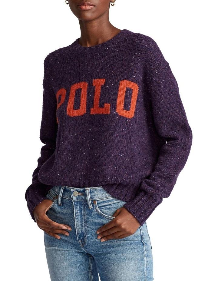 Logo Wool-Blend Sweater image 1