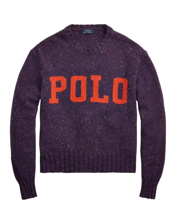 Logo Wool-Blend Sweater image 4