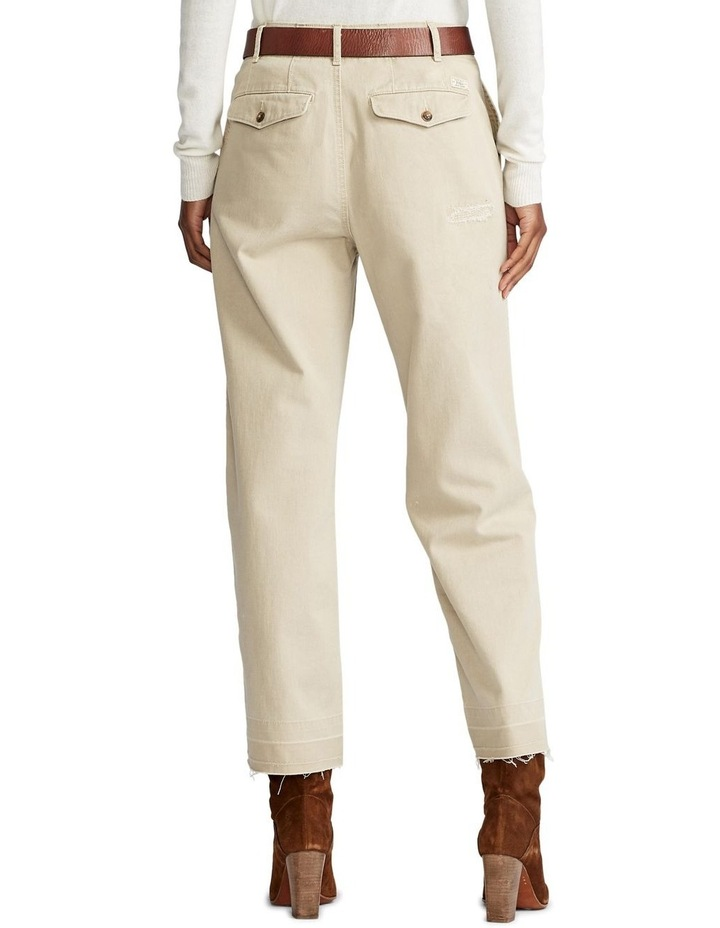 Cotton Twill Cropped Pant image 2