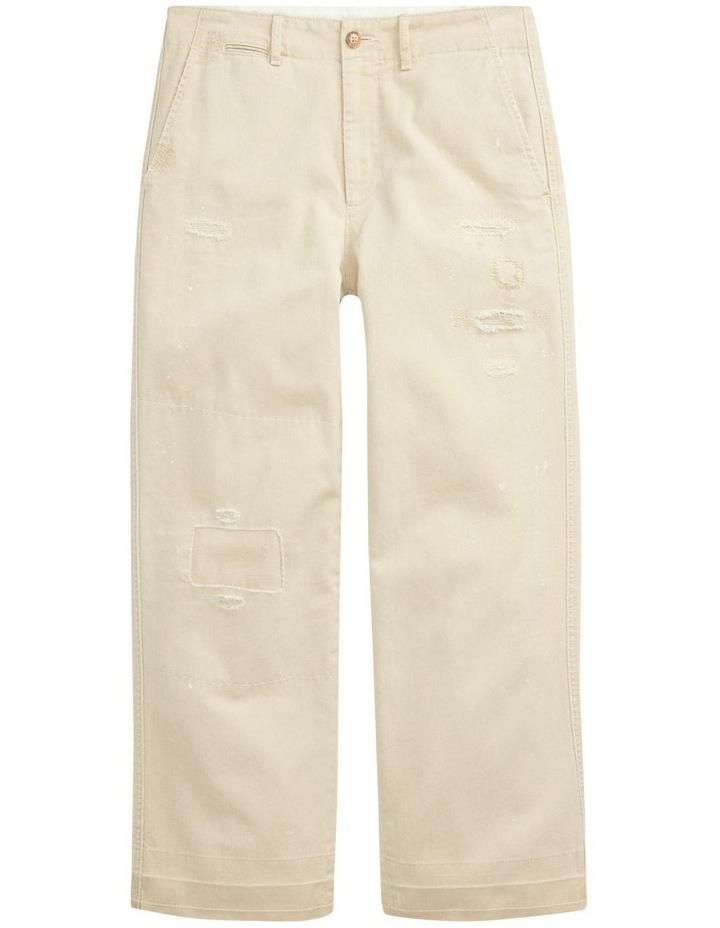Cotton Twill Cropped Pant image 4