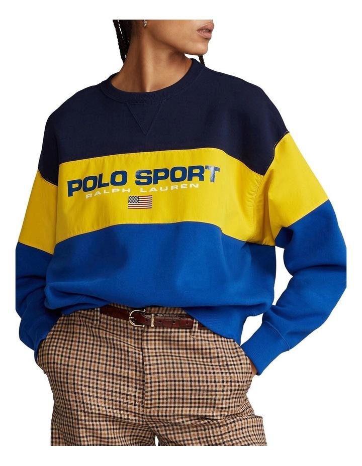 Color-Block Fleece Sweatshirt image 1