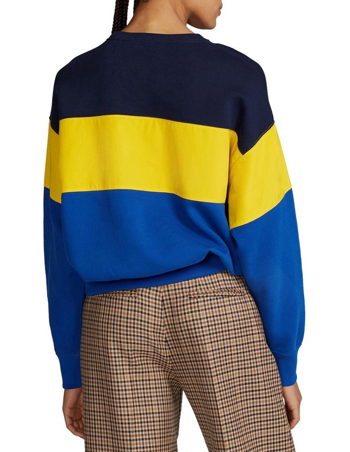 Color-Block Fleece Sweatshirt image 2